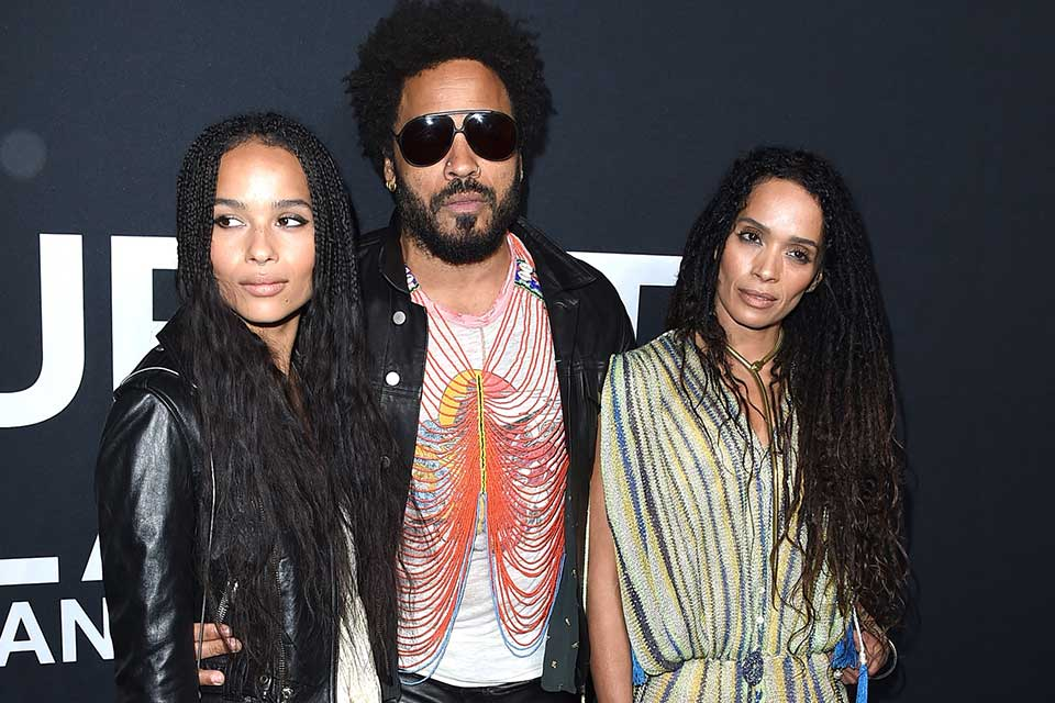 Lenny Kravitz Calls Blended Family With Ex Wife Lisa Bonet